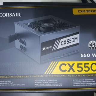 Corsair CX550M Semi Modular Power Supply PSU