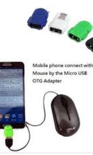 Android Robot micro usb OTG Card Reader•*