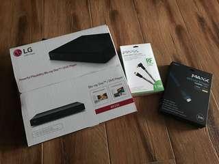 LG Playability Blu-ray Disc / DVD Player