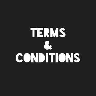 TERMS AND CONDITIONS FOR PREORDERS