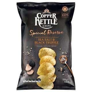 Copper Kettle 海鹽黑松露薯片