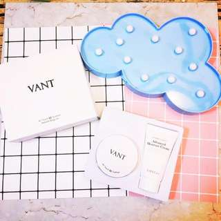 🚚 VANT36.5氣墊粉餅+水份霜套組 23色