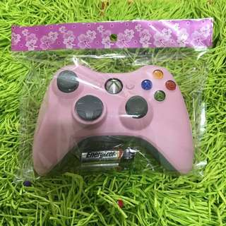 Limited Edition Super Rare Pink Xbox 360 Wireless Controller