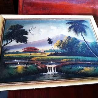 lukisan minyak