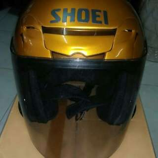 Shoei Jf3 Champion Gold