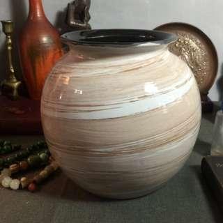 歐洲老手工瓷器花瓶