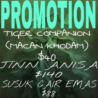 PROMOTIONS ARE BACK(20TH MARCH TO 25TH MARCH)