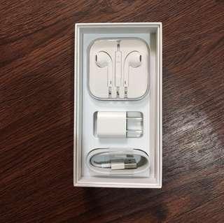 iPhone 6s 配件充電頭 傳輸線 耳機