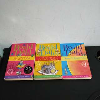 Roald Dahl Books For Sale!