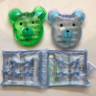 BN Reusable Magic Hot / Cold Packs from Japan