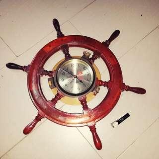 jam kapal tembaga
