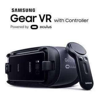 Brand New Samsung Gear VR with controller SM-R325 (sealed)