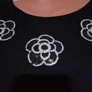 Black blouse ss