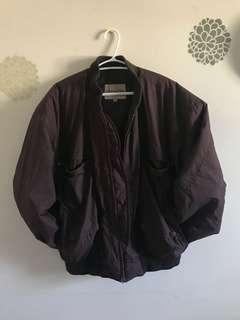 Maroon Bomber Jacket