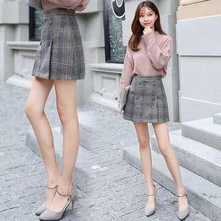 Size XL checkered skirt