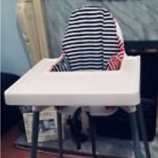 Ikea high chair with insert cusion