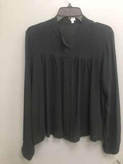 Aritzia's Wilfred silk blouse. Large\xl