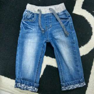 Jeans baby 9m