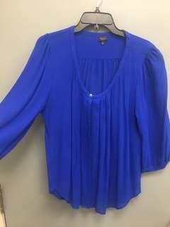 Aritzia's silk shirt. Large/XL