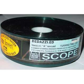 Bedazzled ~ 35mm Movie Film Cels / Trailer (Free Postage)