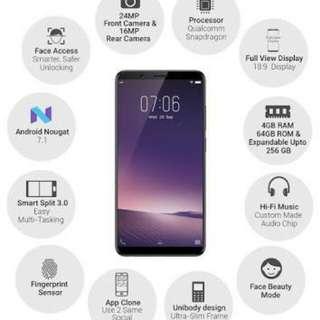 Vivo V7+ Promo Bunga 0,99% Pakai Home Credit Proses Cepat Hanya 3 Menit