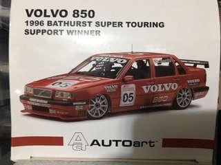 1:18 Autoart Volvo 850 Bathurst #5 1996