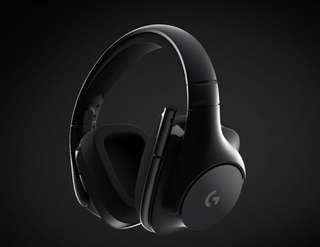 Logitech g533 wireless gaming headset DTS 7.1 surround sound