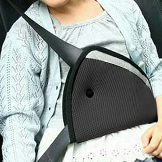 Car Child Safety Cover Shoulder Harness Strap Adjuster Kids Seat Belt Clip