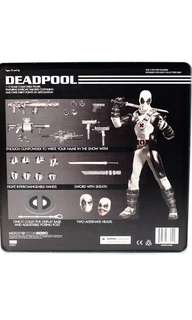 Mezco Toys Deadpool 死待 exclusive Mafex Marvel legends Hottoys 1:12 figure Shf Medicom Bandai Mafex 美玩 食玩 扭蛋 marvel Legends