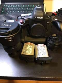 Canon 1dx Mark 2 + 24-70mm + lots of freebies