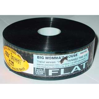 Big Momma's House ~ 35mm Movie Film Cels / Trailer (Free Postage)