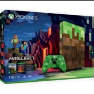 Trade in any game consoles and get Xbox One Slim Minecraft Limited Edition