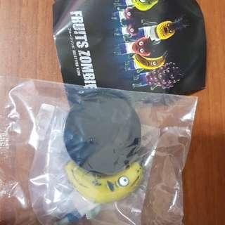 絕版 扭蛋 水果殭屍一代-香蕉