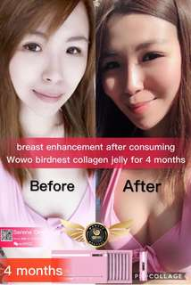 Wowo Moshu Cubilose Collagen Jelly ( Bird nest )
