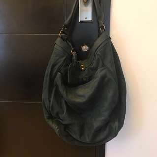 Vanessa Bruno Hobo Bag - Leather Suede Large
