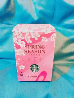Starbucks🌸Dark🍒Cherry and Spice季節限定 Spring Season Blend 2018 季節限定 (Personal Drip Coffee) Starbucks Spring Blossom 櫻花Sakura