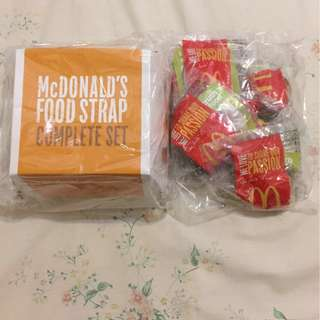 McDonald's Food Strap Complete Set