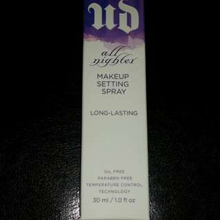 Urban Decay All Nighter Makeup Setting Spray (travel size)
