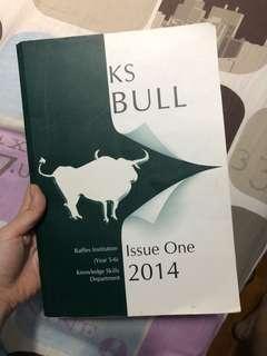 KS BULL Issue One 2014