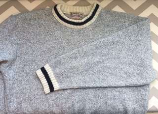 London fog knit sweater