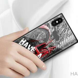 """iPhoneX phone case """"Once have a Dream"""" bicycle"""