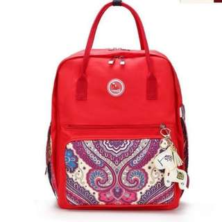 ❤ Fashionable Baby Diaper Bag/ Mommy Nursing Bag ( Red)
