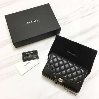 BRAND NEW CHANEL Wallet on Chain