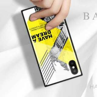 "iPhoneX phone case ""Have a Dream"""