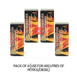 FUEL FORTIFIER POWER BOOSTER(PACK OF 4)