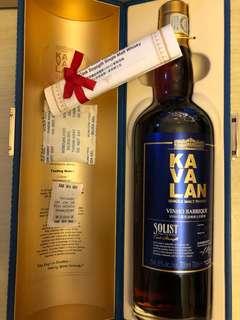 噶瑪蘭 KAVALAN Vinho Barrique