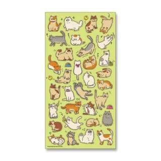 Only 1 Instock! (Mix & Match)*Mind Wave Japan - Cat theme Stickers