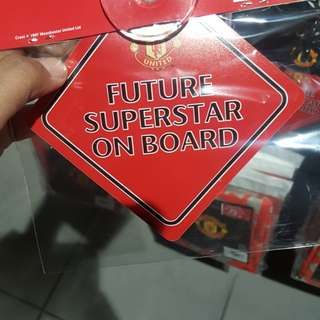 Man united Onboard Sticker