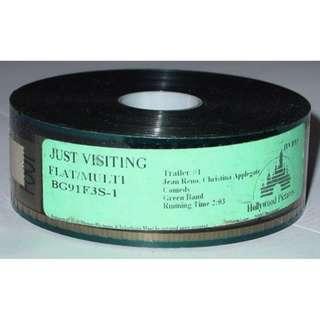 Just Visiting ~ 35mm Movie Film Cels / Trailer - Jean Reno, Christina Applegate (Free Postage)