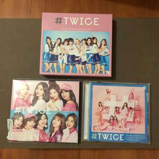 TWICE JAPAN Albums (#TWICE debut album & One More Time)